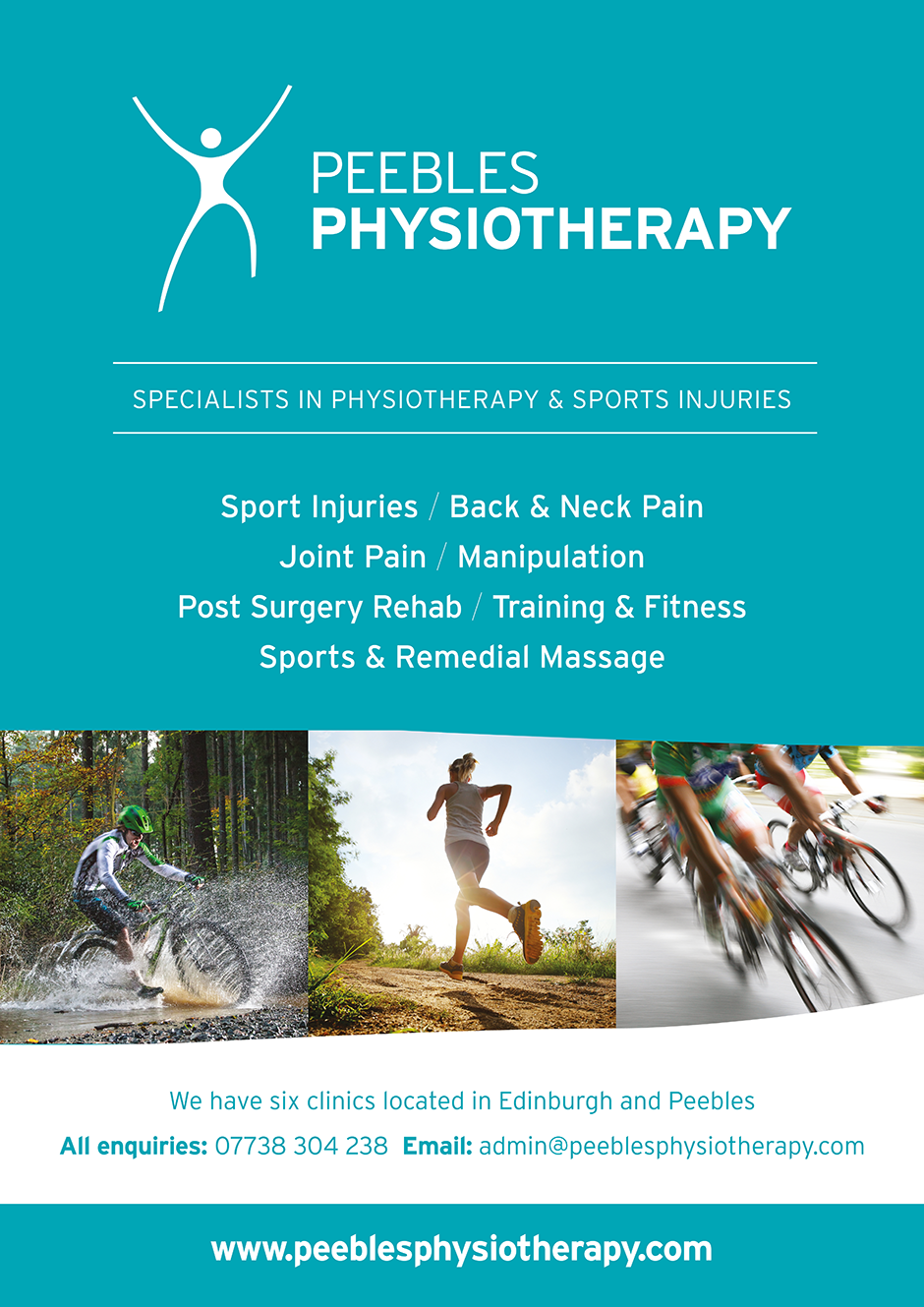 Peebles Physiotherapy poster